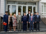 Посещение Первого Московского кадетского корпуса руководством МАИ во главе с ректором М.А. Погосяном