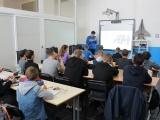 Профориентационные занятия со школьниками